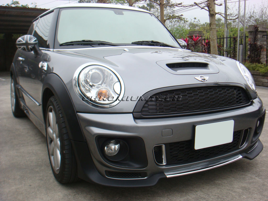top sun aero body kit for mini cooper one r56 f r bumper. Black Bedroom Furniture Sets. Home Design Ideas