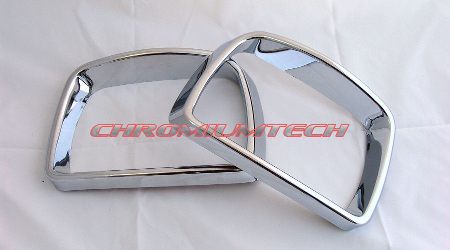 00 06 bmw x5 e53 chrome miroir r troviseur ext rieur ring for Chrome line exterieur bmw