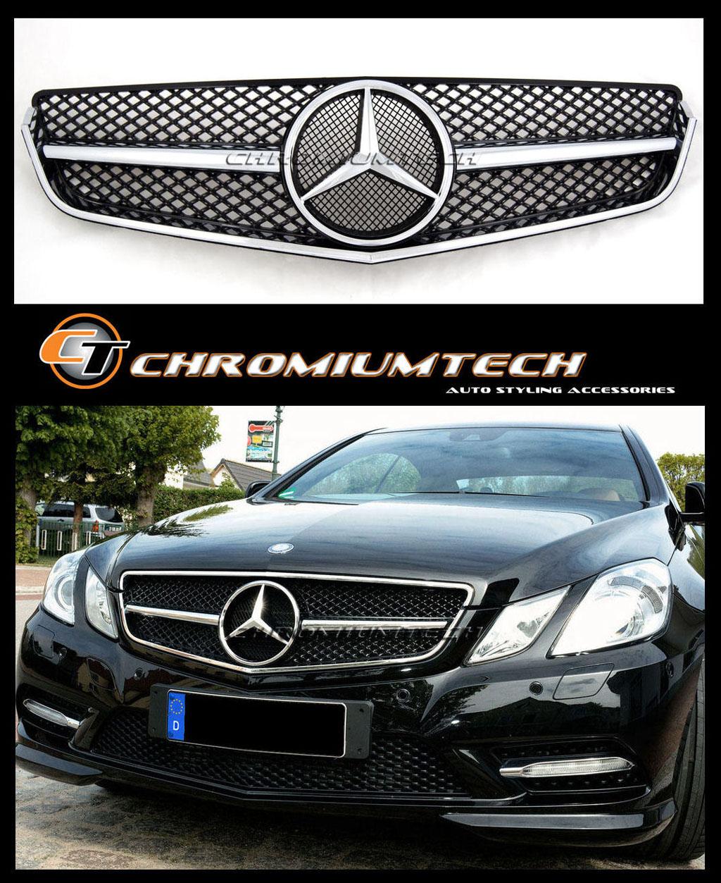 2009 13 Mercedes W207 C207 E Class Coupe Convertible Black