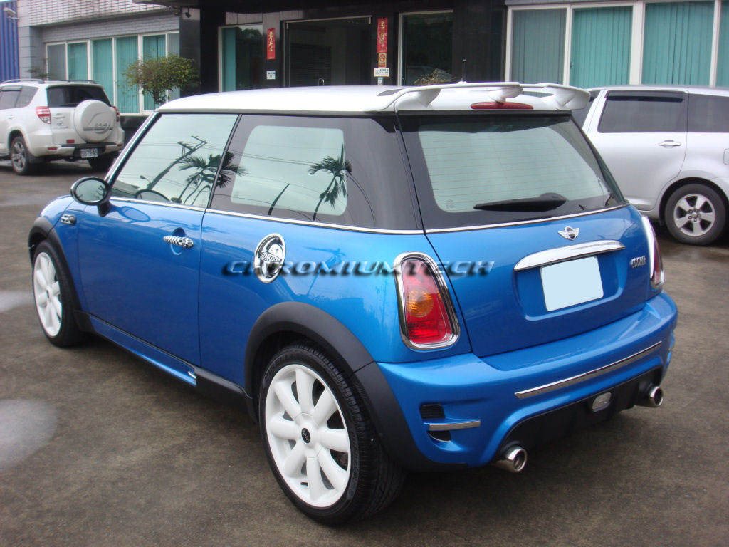 chromiumtech bmw mini cooper cooper s one r50 r53 rear. Black Bedroom Furniture Sets. Home Design Ideas