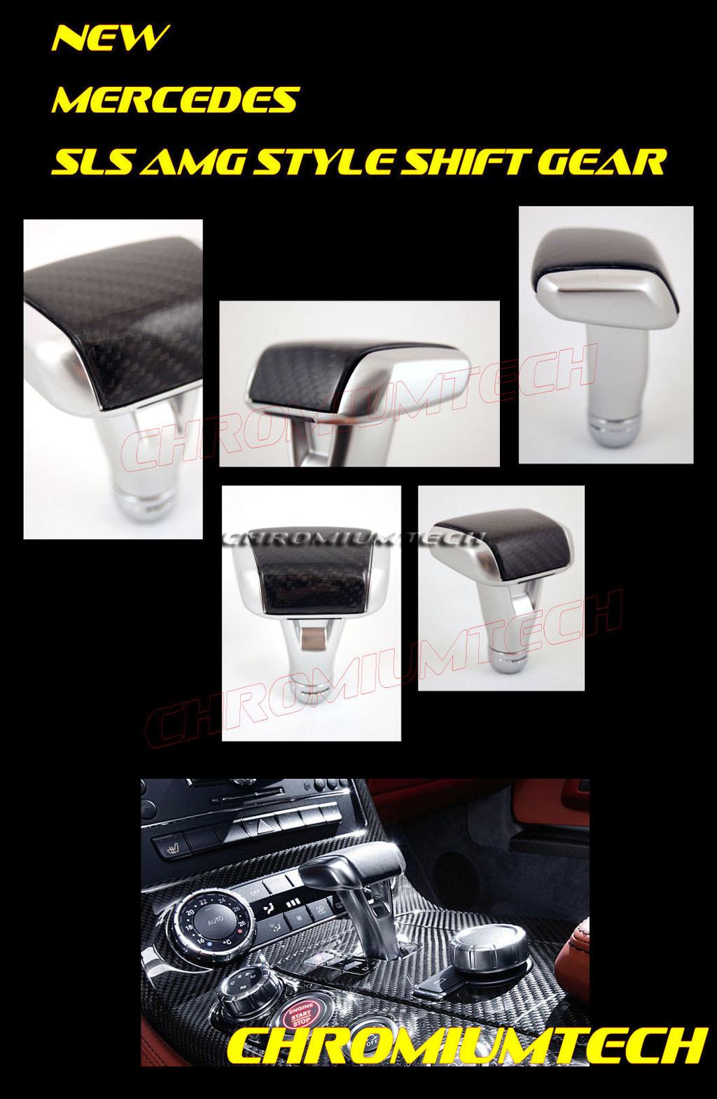 schaltknauf mercedes w203 w204 c klasse amg sls stil. Black Bedroom Furniture Sets. Home Design Ideas
