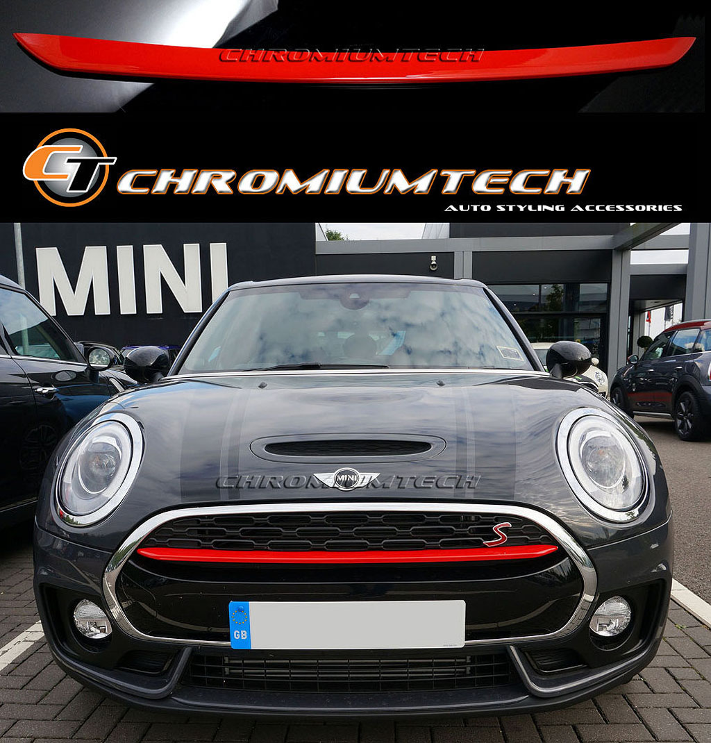 mini cooper s sd jcw f54 clubman front grille bumper trim. Black Bedroom Furniture Sets. Home Design Ideas