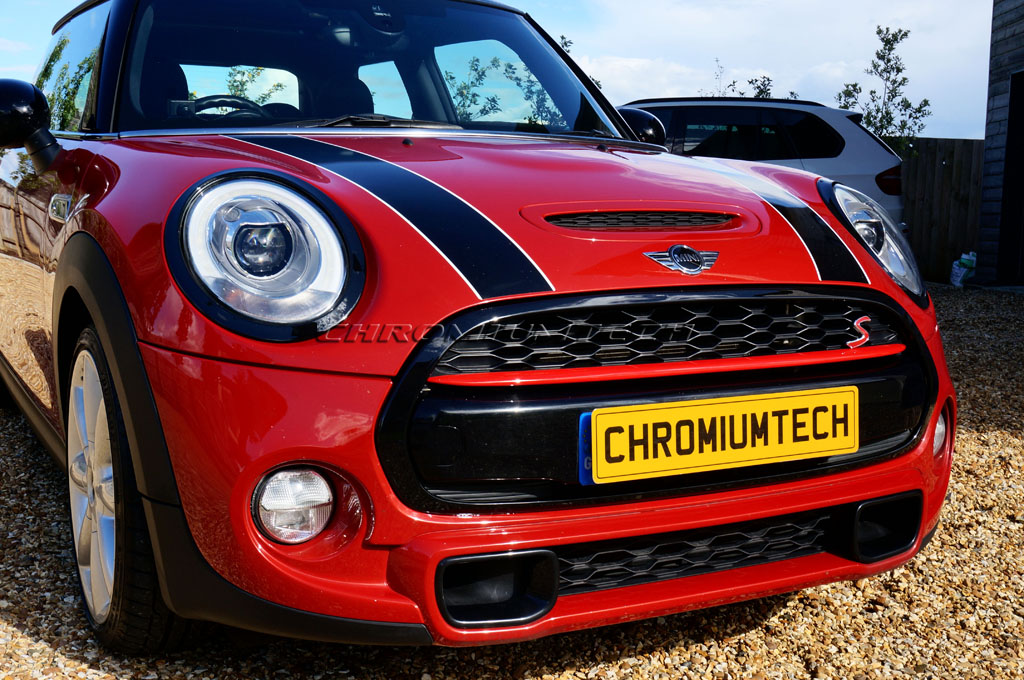 Front Bumper Center Grille Frame All Chrome Not S,Sd Or Jcw Compatible With Mini Hatchback F55 F56 2014- Trade Vehicle Parts AT1108 Cabriolet Cabriolet F57 2016-