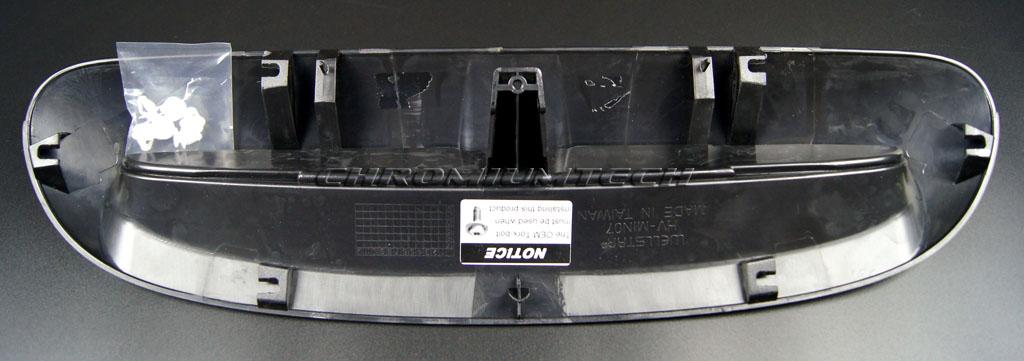MK3 MINI Cooper//S//SD//JCW F54 F55 F56 F57 Black Bonnet Scoop Air Inlet Trim