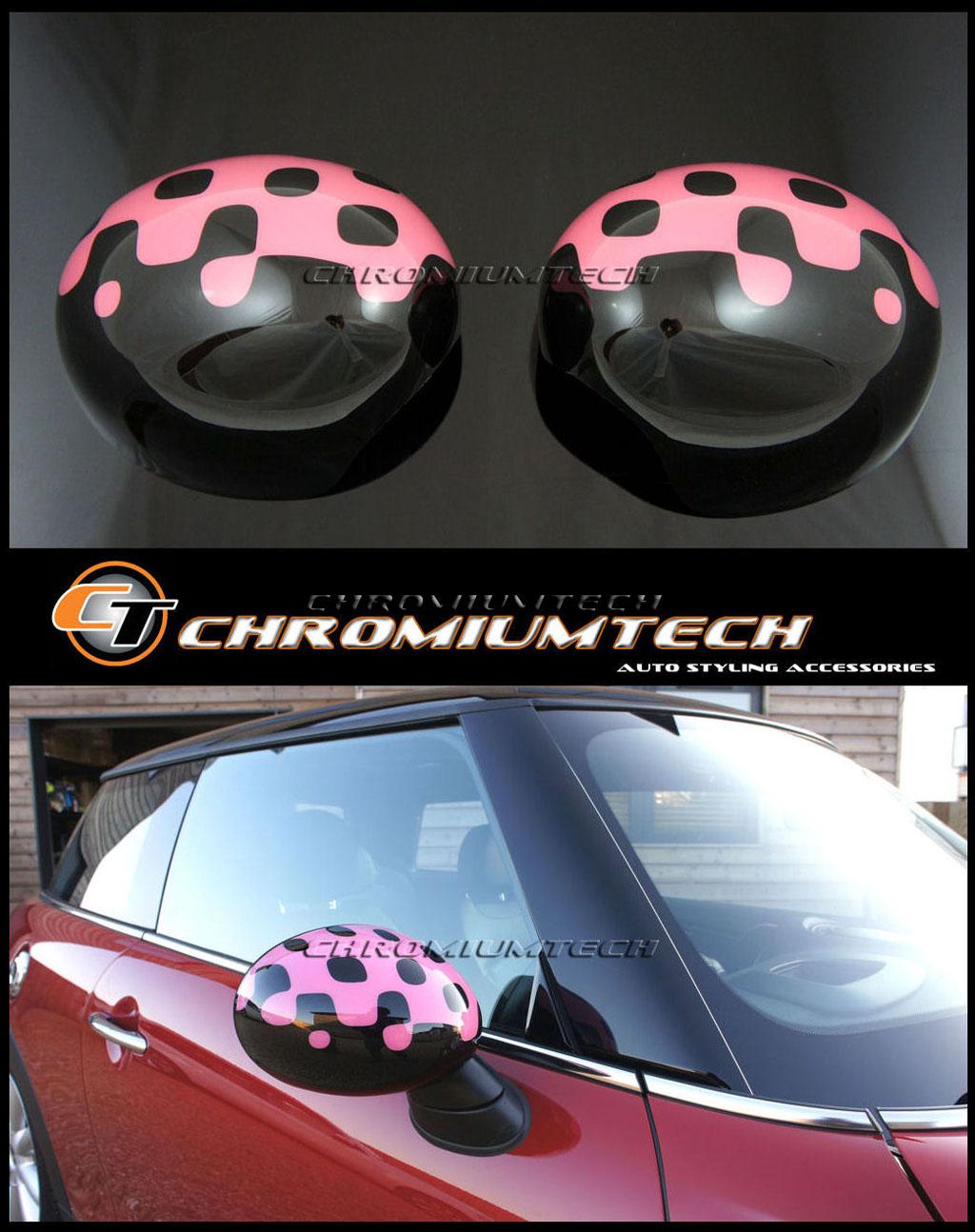 Neuf BMW MINI One//Cooper//S Aile Miroir Support//Cap//Housse N//S R50 R52 R53