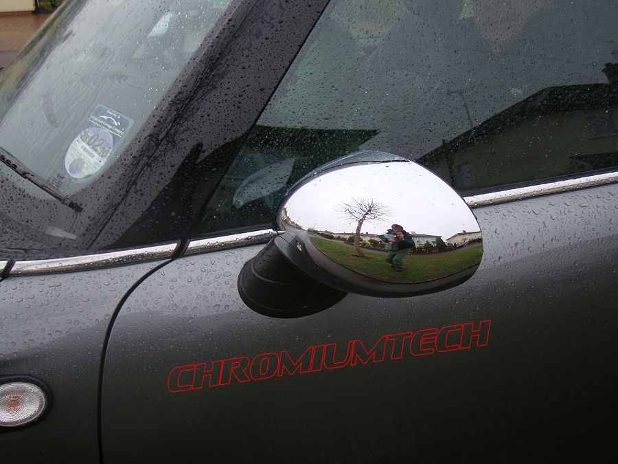 Mini Cooper R55 R56 R57 R58 R59 R60 R61 Chrome Mirror Cap