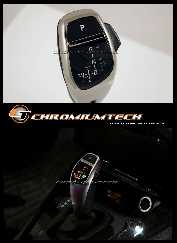 Bmw E90 E92 E87 E82 E84 Chrome Led Shift Gear Knob For Rhd