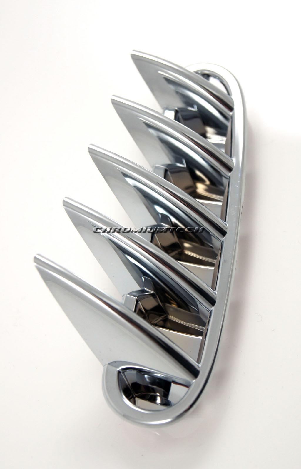 2010-16 MINI R60 R61 Countryman Cooper S//SD CHROME Rear Air Louver Vent Surround