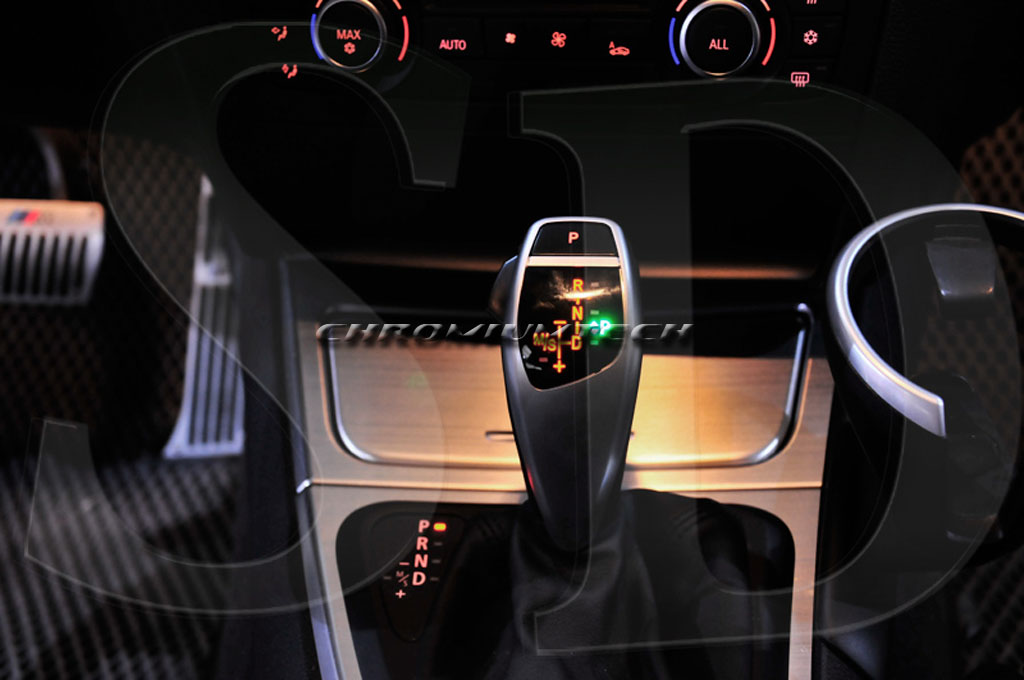 BMW E46 E60 3//5-Series CHROME LED Shift Gear Knob for LHD w//Gear Position Light